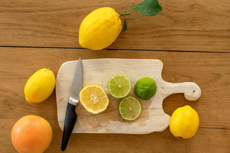 foto di agrumi in cucina